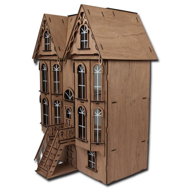 Emerson Row Dollhouse Kit