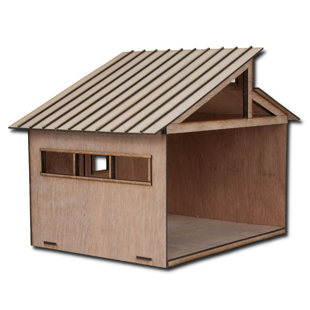 Dollhouse Standing Seam Roof
