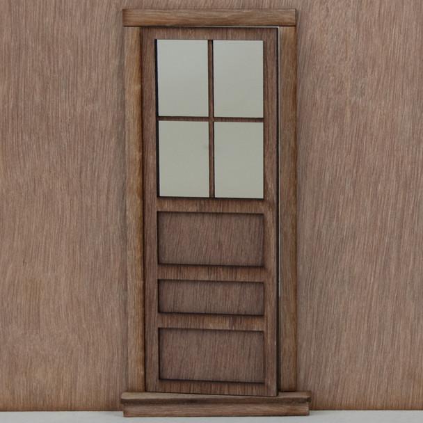 Miniature Dollhouse Panel Door