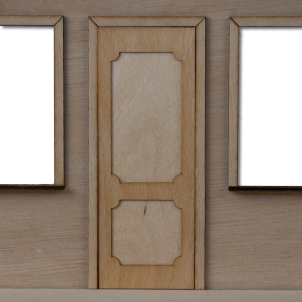 One Inch Dollhouse Door