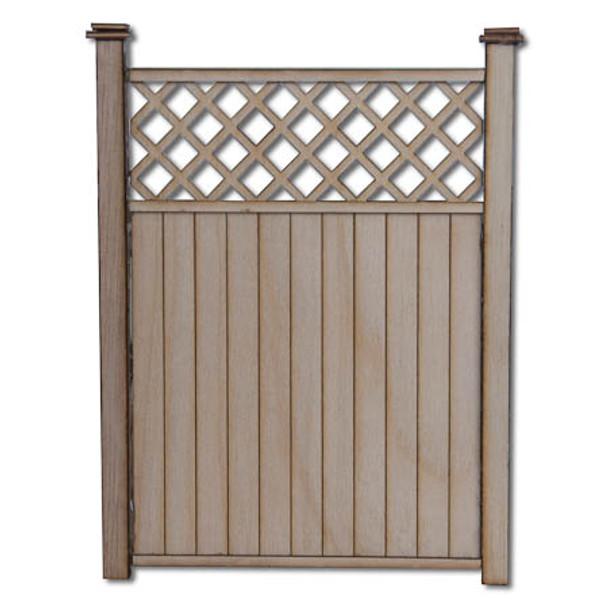 Dollhouse Privacy Fence