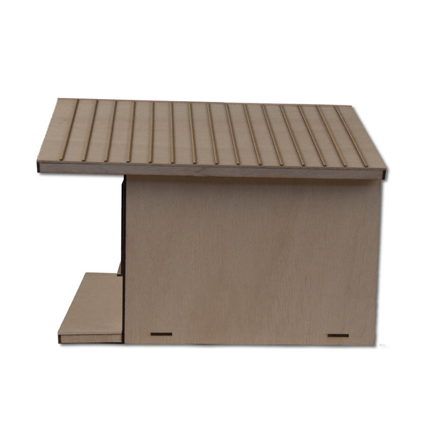 Dollhouse Stand Seam Roof