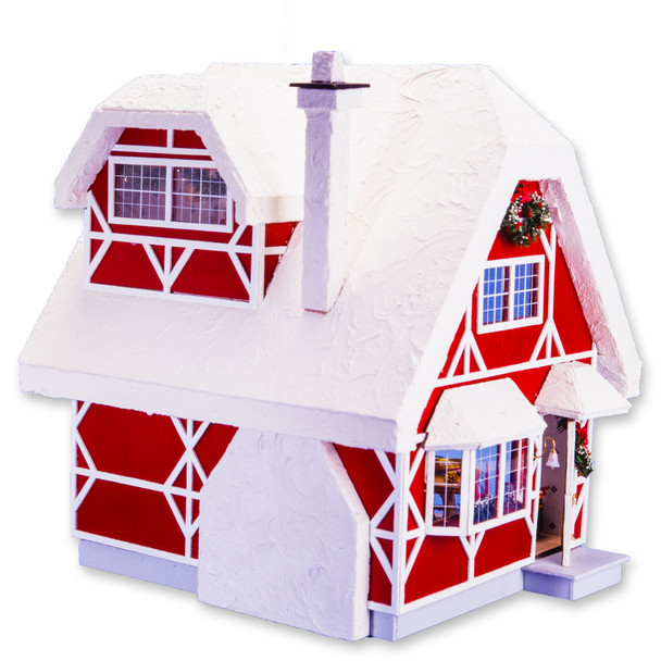 Santa Cottage Dollhouse