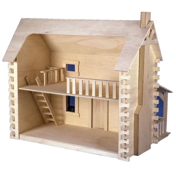 Creekside Cabin Dollhouse Kit
