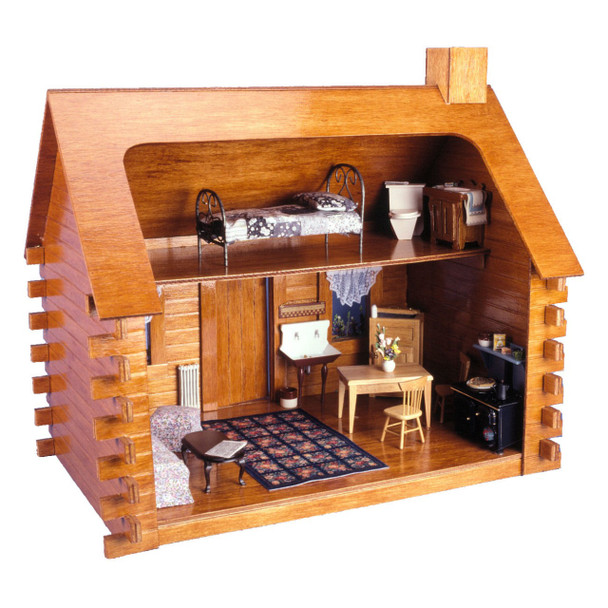 Shadybrook Cabin Dollhouse Kit