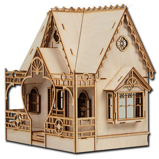 Laser Cut Half Scale Diana Dollhouse Kit