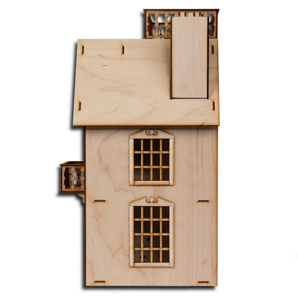 Laser Cut Half Scale Van Buren Dollhouse Kit