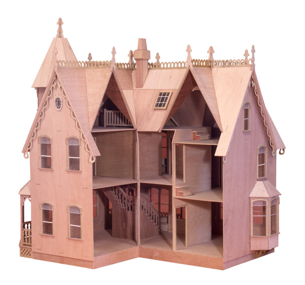Wood Dollhouse Kit