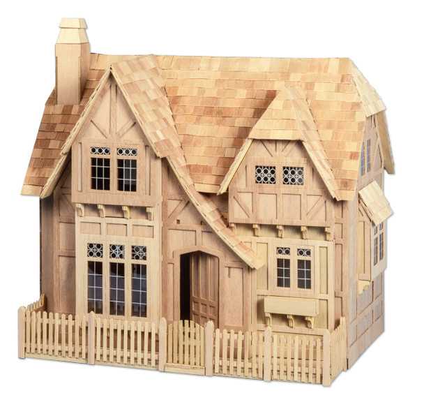 Tudor Dollhouse Kit