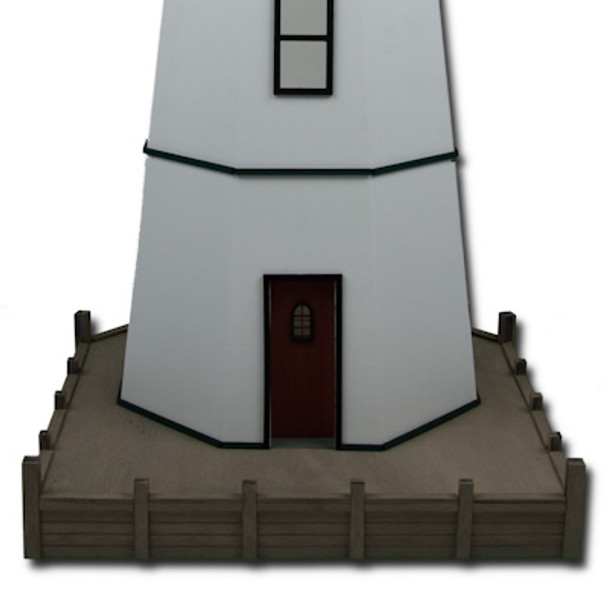 Harbor Island Lighthouse Base Dollhouse Kit