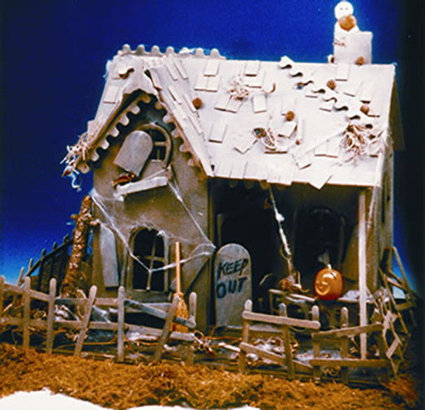 Haunted House Dollhouse Kit