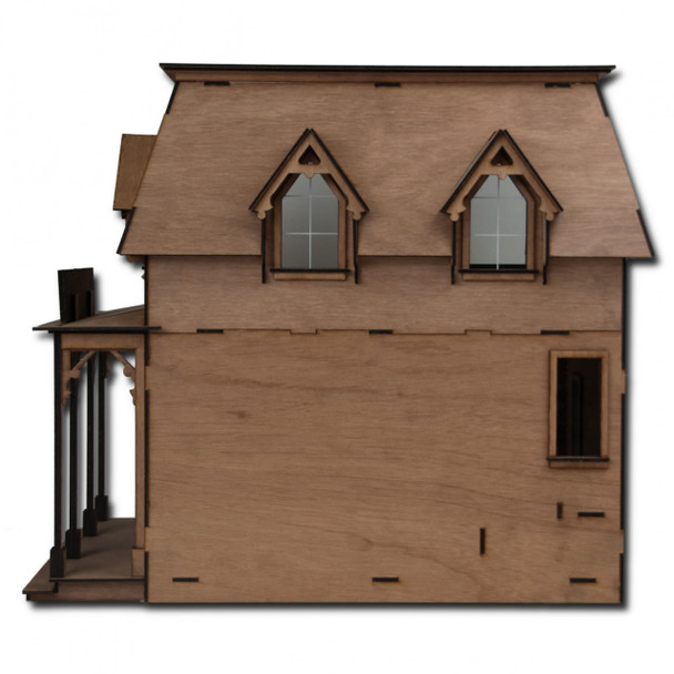 Laser Cut Brimble's Mercantile Dollhouse Kit