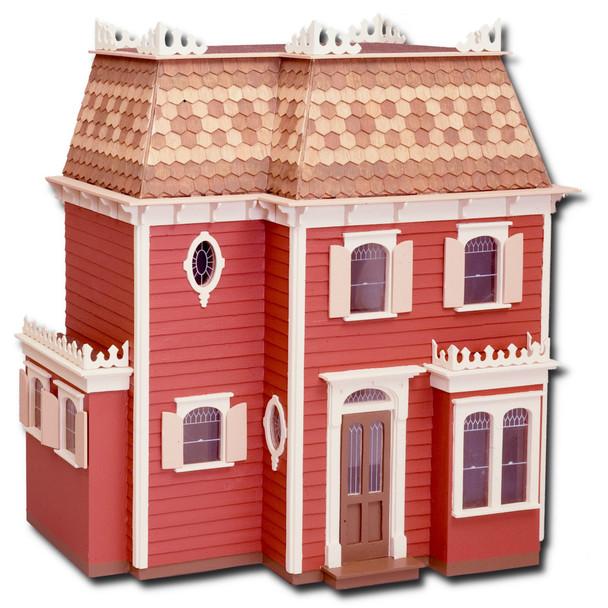 Laser Cut Rosedale Dollhouse Kit