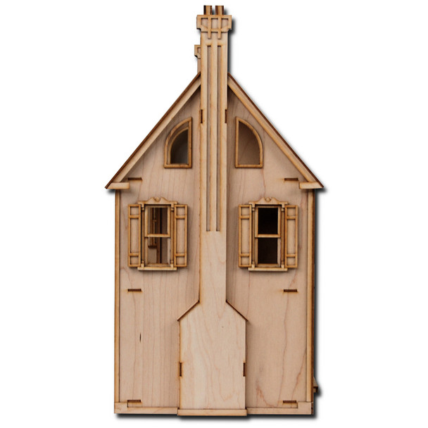Laser Cut Half Scale Willow Dollhouse Kit