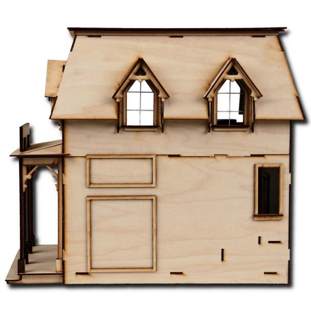 Laser Cut Half Scale Brimble's Mercantile Dollhouse Kit
