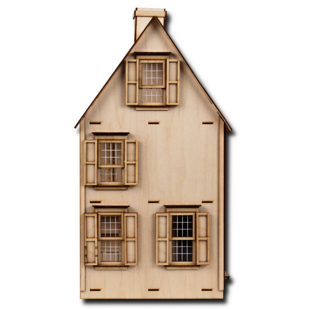 Laser Cut Half Scale Jefferson Dollhouse Kit