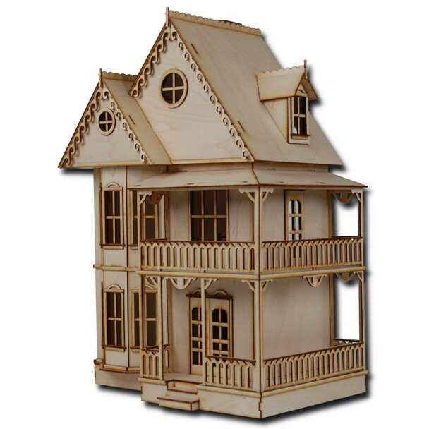 Laser Cut Half Scale Tennyson Dollhouse Kit