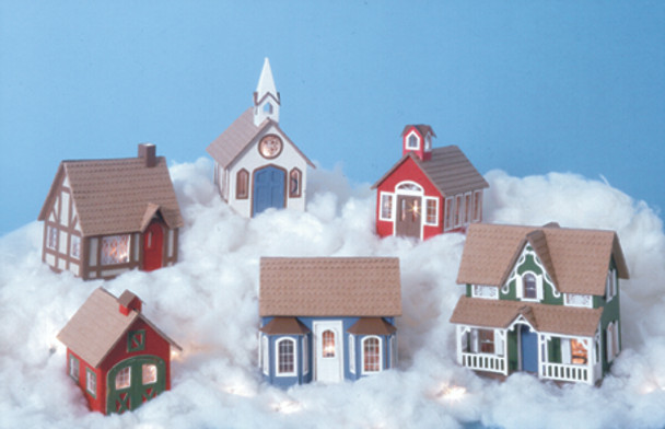 Miniature Greenleaf Village Kit