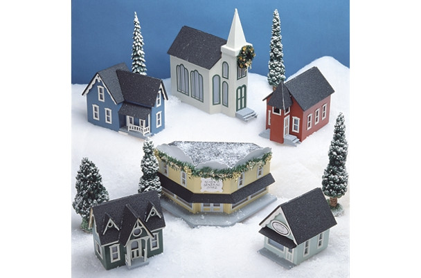 Miniature Pine Mountain Village Kit
