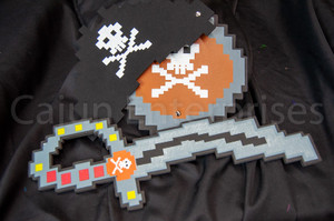 FOAM PIXEL PIRATE SET 3 PC
