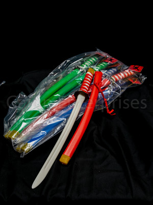 "24"" ASSORTED COLOR NINJA SWORD"