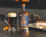 Maple Coffee Non-Alcoholic Irish Coffee Mocktail Recipe