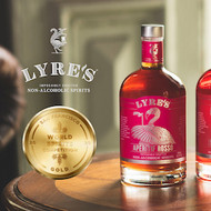 Lyre's now the most awarded non-alcoholic spirit company in the World!