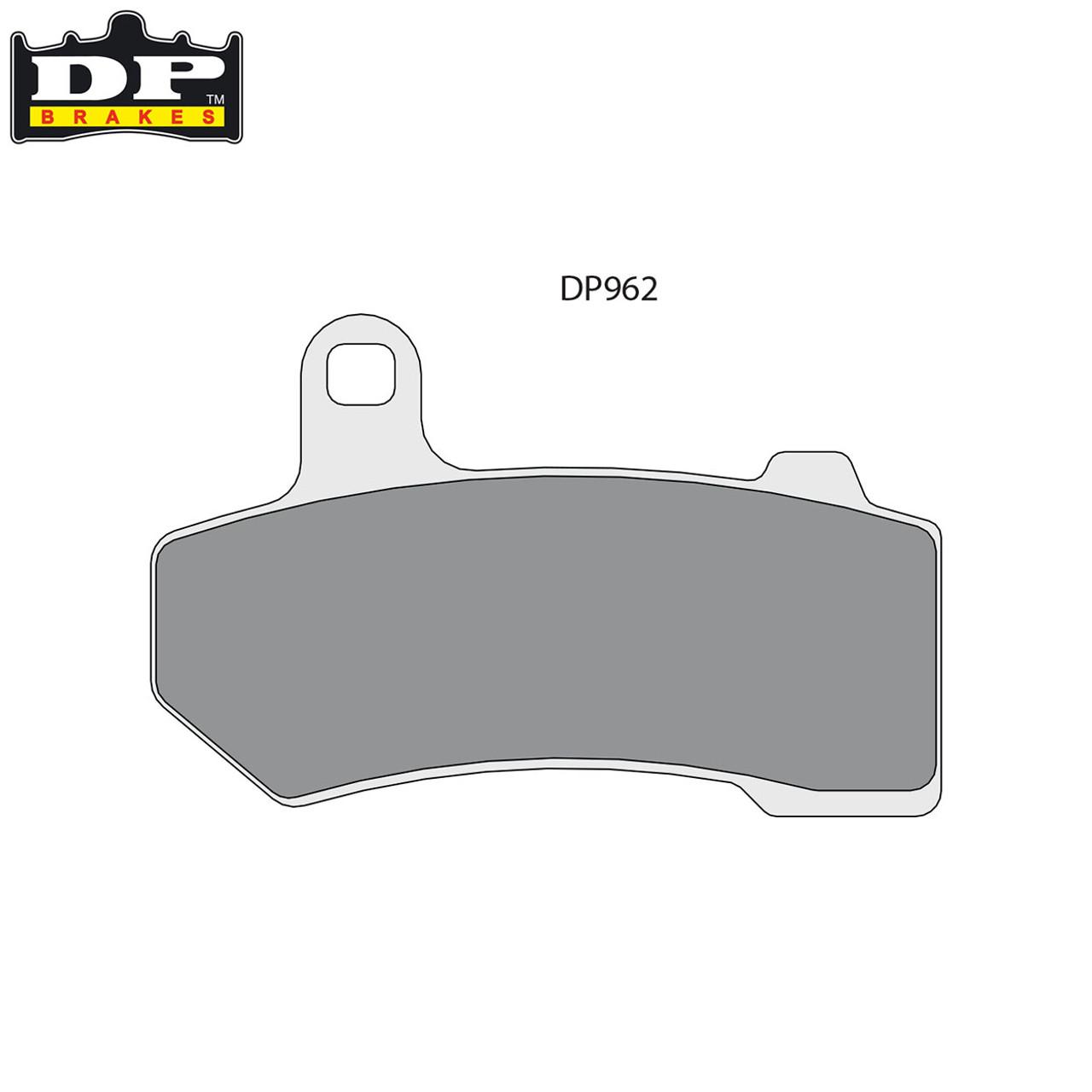 DP BRAKES BRAKE PAD SINTERED DP962 DP962