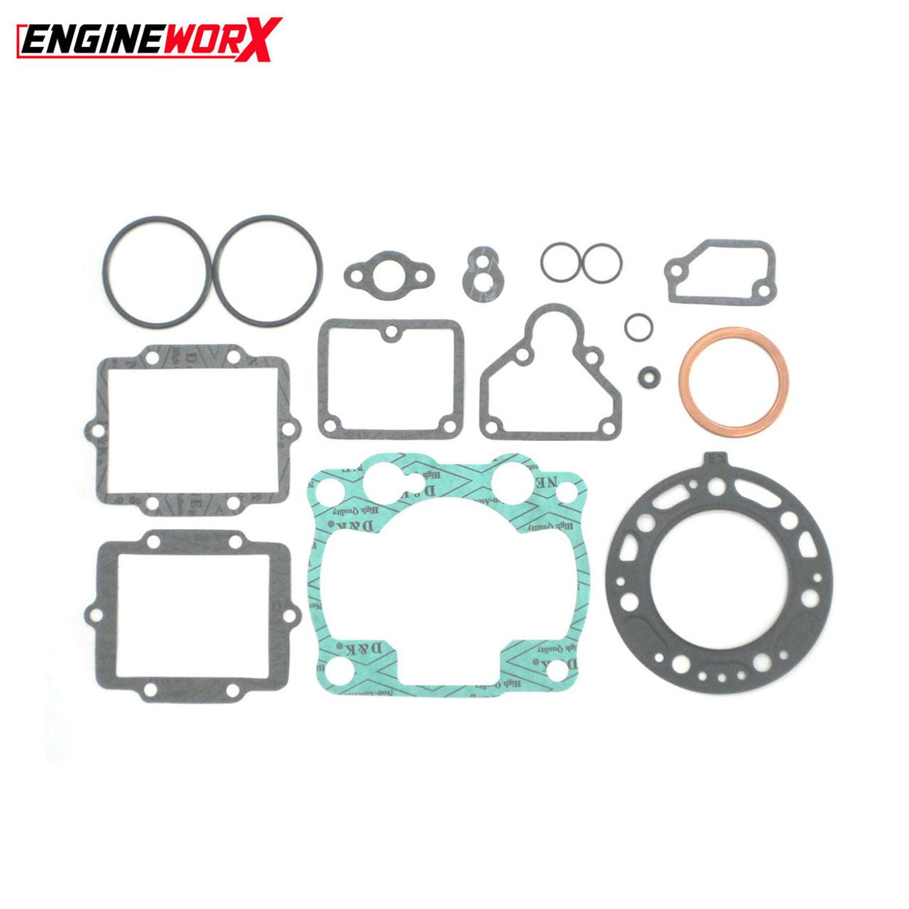 New Kawasaki KXF 450 09-15 Engineworx Full Engine Gasket Kit Complete Set MX