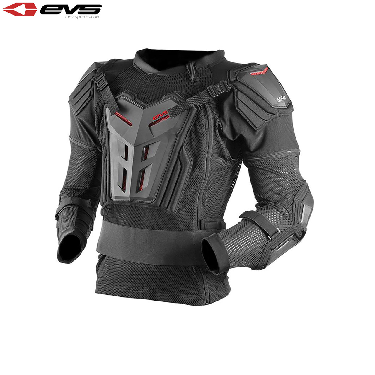EVS COMP SUIT MOTORCYCLE STREET RIDING CHEST SPINE PROTECTOR BALLISTIC NEW 2014