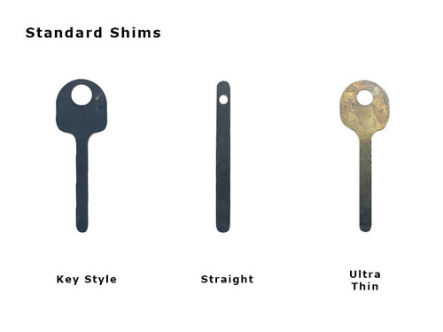 Key Style Handcuff Shim 2-Pack (HCS-02)