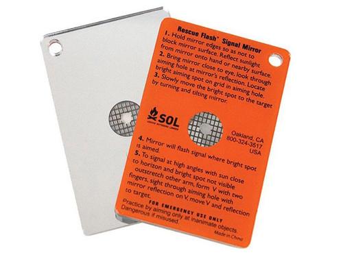 S.O.L®  Rescue Flash® Signal Mirror