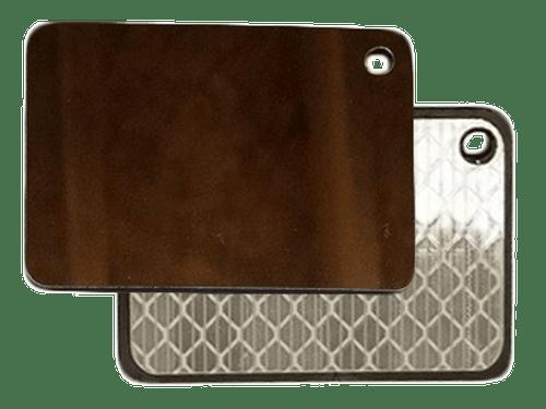 Mini Signal Mirror (HCMSM) Small, Signal, Lightweight, Featherweight, sos, s.o.s, reflexite, mirror