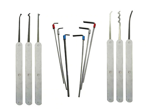 2500 Series Lock Pick Set (12 Piece) (LPH-12E-2500)