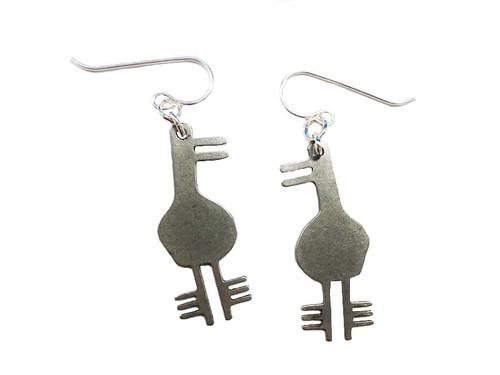 Stealthy Duck Earrings