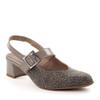 Beautifeel Maisy Taupe Leo angle view - Hanig's Footwear