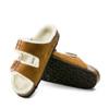 Birkenstock Arizona Shearling Mink sole view - Hanig's Footwear