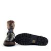 Regarde le Ciel Nika-18 Black sole view - Hanig's Footwear