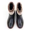 Regarde le Ciel Nika-18 Black top view - Hanig's Footwear