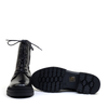 Regarde le Ciel Payton Black sole view - Hanig's Footwear