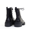 Regarde le Ciel Payton Black heel view - Hanig's Footwear