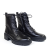 Regarde le Ciel Payton Black angle view - Hanig's Footwear