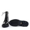 Regarde le Ciel Payton-09 Black Patent sole view - Hanig's Footwear