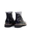Regarde le Ciel Vivian-05 Black Leather heel view - Hanig's Footwear