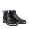 Regarde le Ciel Vivian-05 Black Leather angle view - Hanig's Footwear