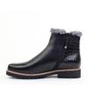 Regarde le Ciel Vivian-05 Black Leather inside view - Hanig's Footwear