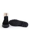 La Canadienne Abba Black sole view - Hanig's Footwear