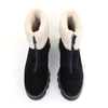 La Canadienne Abba Black top view - Hanig's Footwear