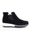 La Canadienne Nadette Black side view - Hanig's Footwear