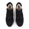 La Canadienne Nadette Black top view - Hanig's Footwear